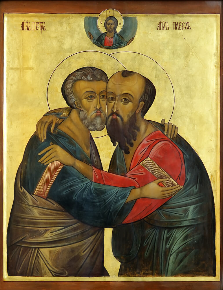 Sts. Peter and Paul icon