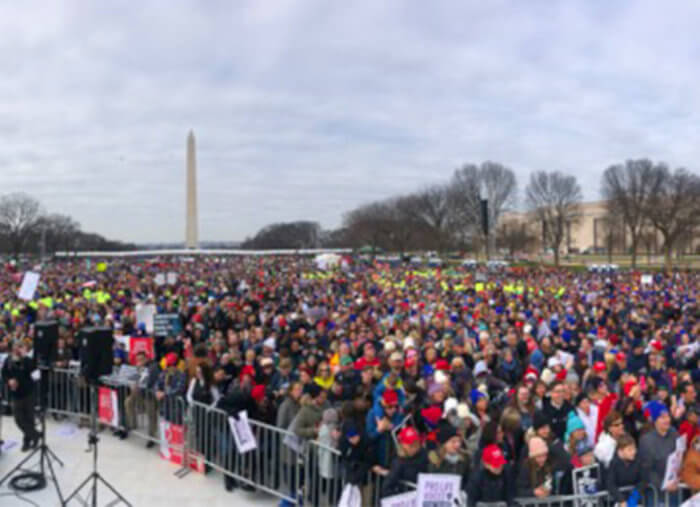 Full Text of President Trump's March for Life Speech